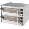 Four à pizza 1 pizza mini 2 niveaux / CFRP2400 / CASSELIN