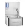 Lave-mains à commande fémorale + distributeur savon 500 mL / CLV1B / CASSELIN