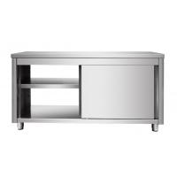 Table Fermée / Traversantes / Avec 2 étagères