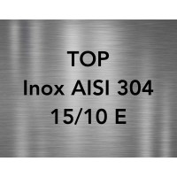 TOP INOX AISI 304 15/10E